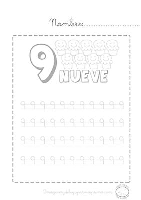 Caligrafia de numeros pdf