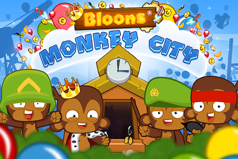 Bloons monkey city – Create your very own city!