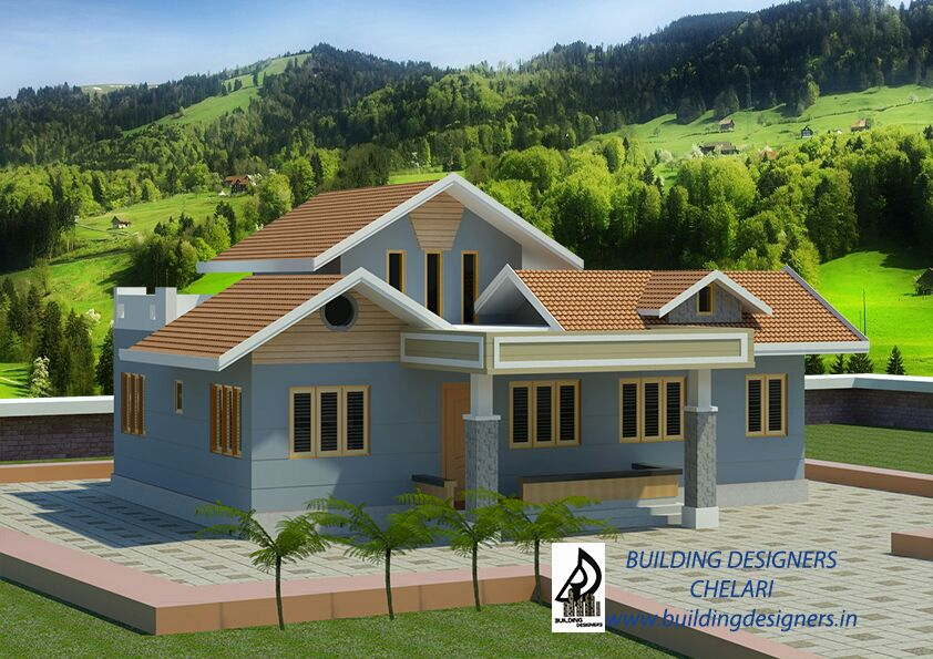15.3 Lakh: 1130 Sqft Low Cost Beautiful House Design For Middle Class Family