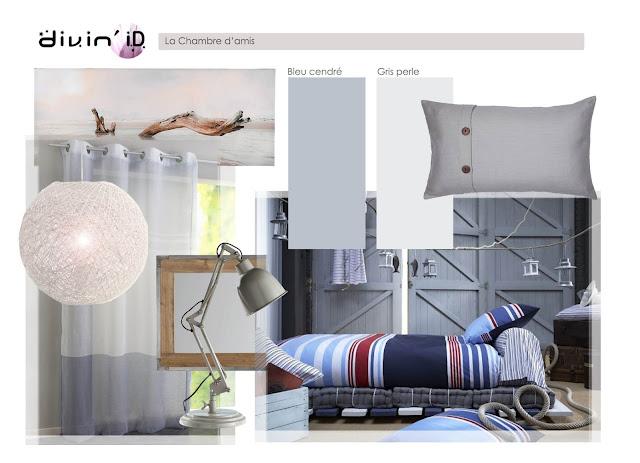 divin 39 id le blog d co une ambiance bord de mer seaside room decor. Black Bedroom Furniture Sets. Home Design Ideas