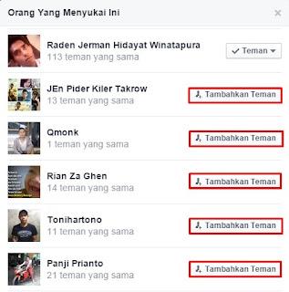 Cara Memperbanyak Like Status Facebook