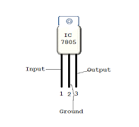Simple 5V POWER SUPPLY USING 7805 IC FROM 230V AC MAINS