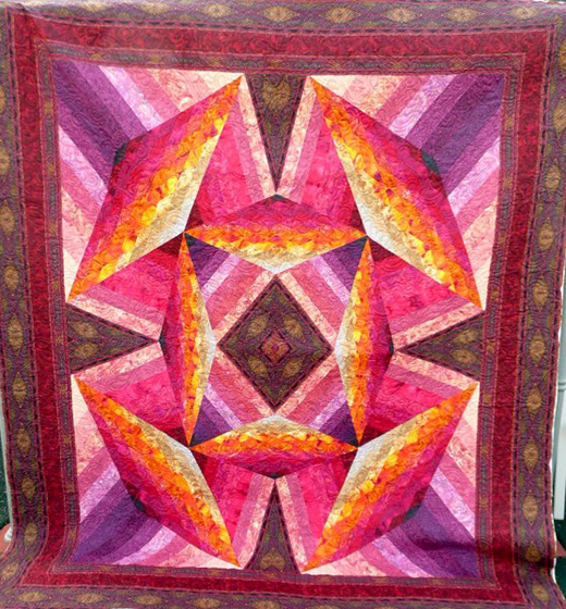 Summer Lily Quilt Free Pattern