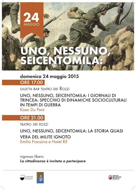 the flyer of uno, nessuno, seicentomila