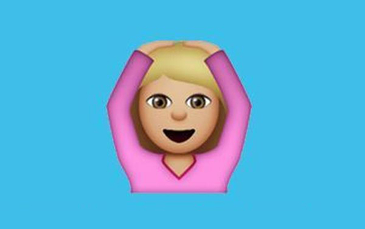 Emoji terkenal ini kebanyakan digunakan untuk mengungkapkan kejutan atau menganggap gadis yang akan memulai tarian perut itu tidak benar.
