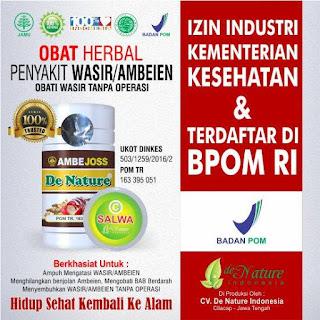 Agen Resmi Penjualan Obat Wasir De Nature di Riau Pekanbaru