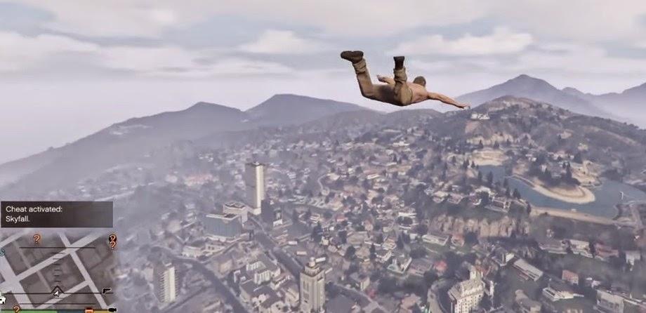 Usuário poderá inserir número de telefone para ver personagem do game GTA 5 despencar no ar