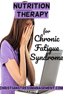 Nutrition Therapy for Chronic Fatigue Syndrome Treatment