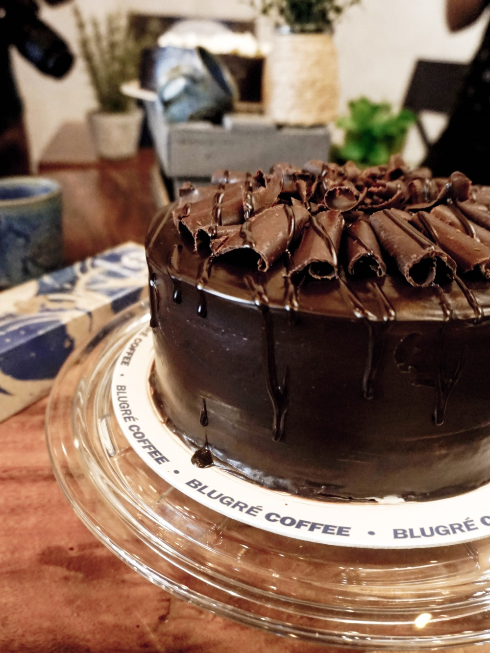 Blugré Coffee Chocolate Cake