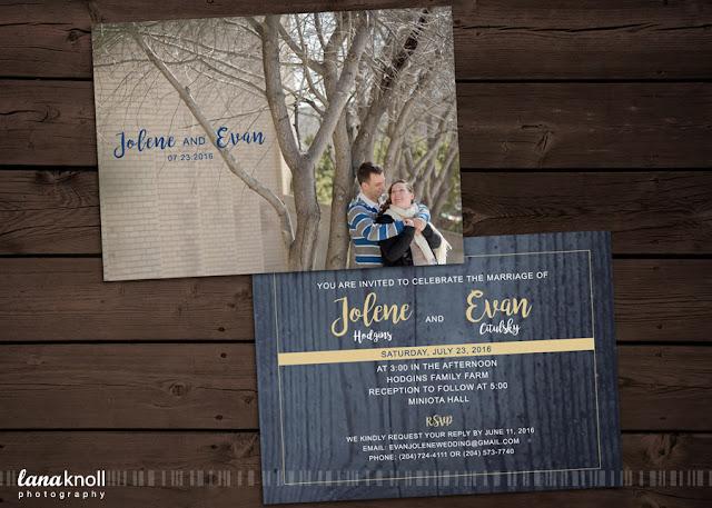 Brandon MB wedding invitations