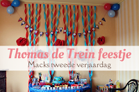 Thomas de trein feestje - Macks tweede verjaardag