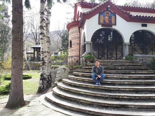 Marco Vidal monasterio de Dragalevtsi Bulgaria