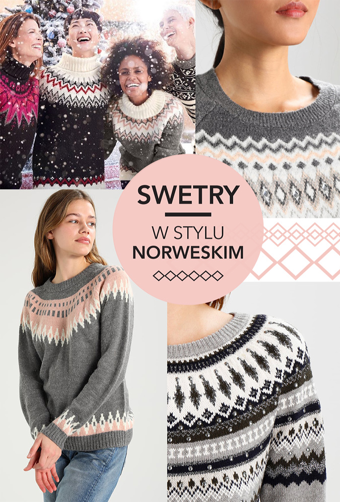swetry w stylu norweskim