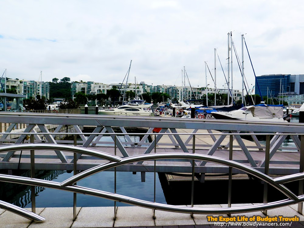 bowdywanders.com Singapore Travel Blog Philippines Photo :: Singapore :: Marina at Keppel Bay