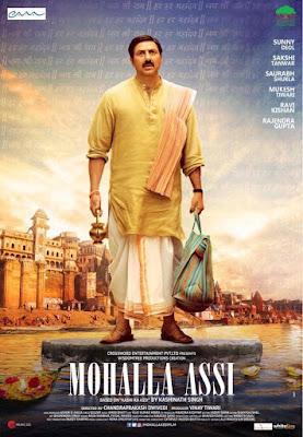 Mohalla Assi 2018 Hindi 720p WEB HDRip 900Mb x264
