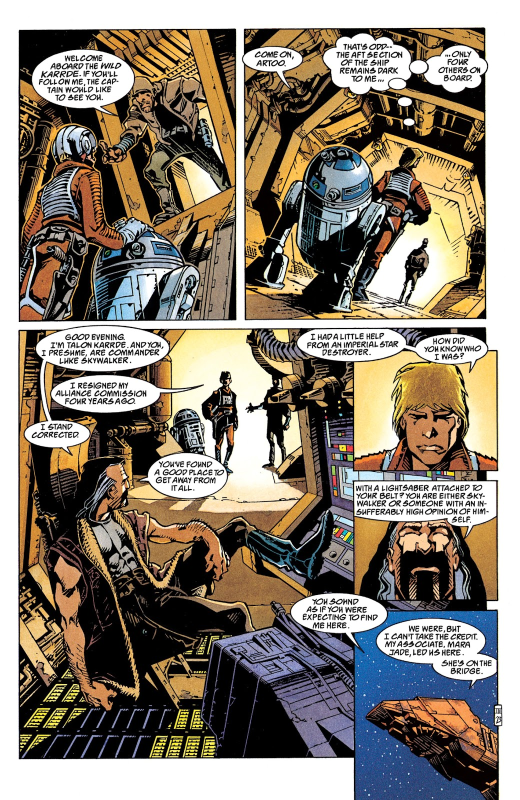Read online Star Wars Legends: The New Republic - Epic Collection comic -  Issue # TPB 4 (Part 1) - 77