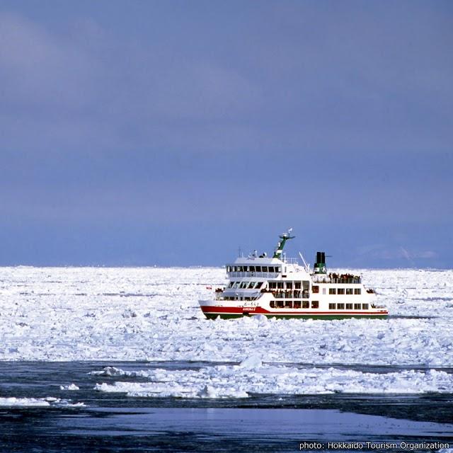 【網走流冰觀光破冰船極光號】可遇不可求 差這麼一點就看到流冰奇景