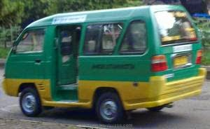 Rute Trayek Angkutan Kota (Angkot) di Bandung [1]
