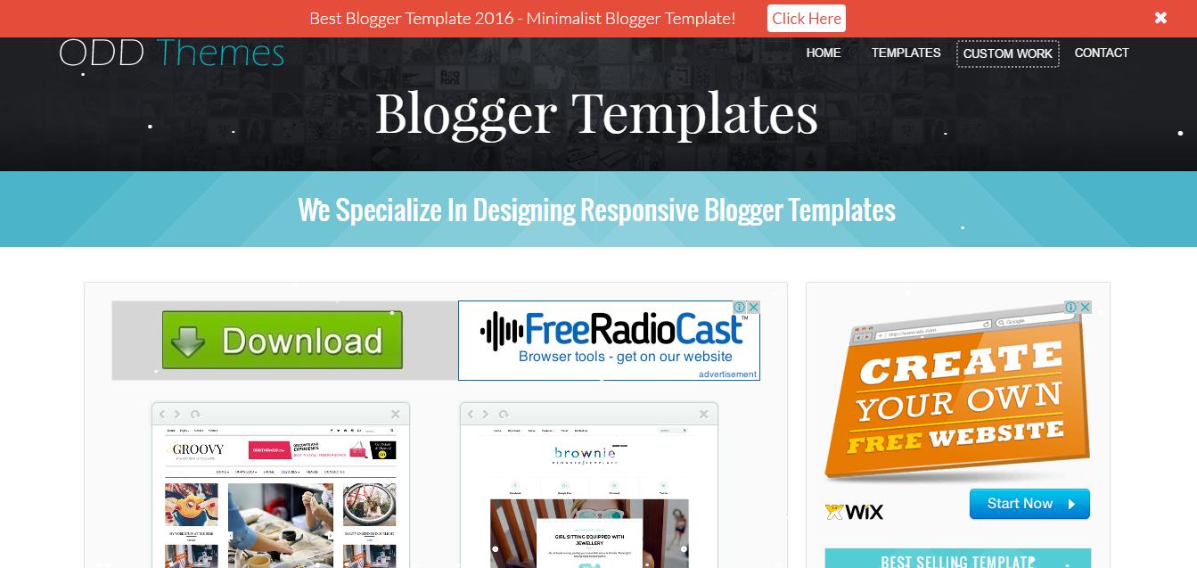 free responsive templates