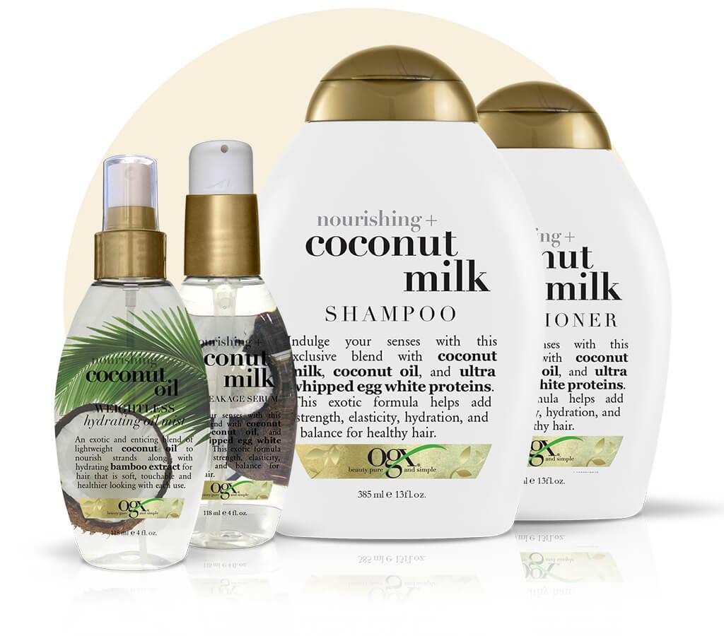 l 39 apres shampoing coconut milk de ogc natural saramaya. Black Bedroom Furniture Sets. Home Design Ideas