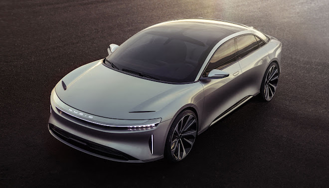 Lucid Air front view