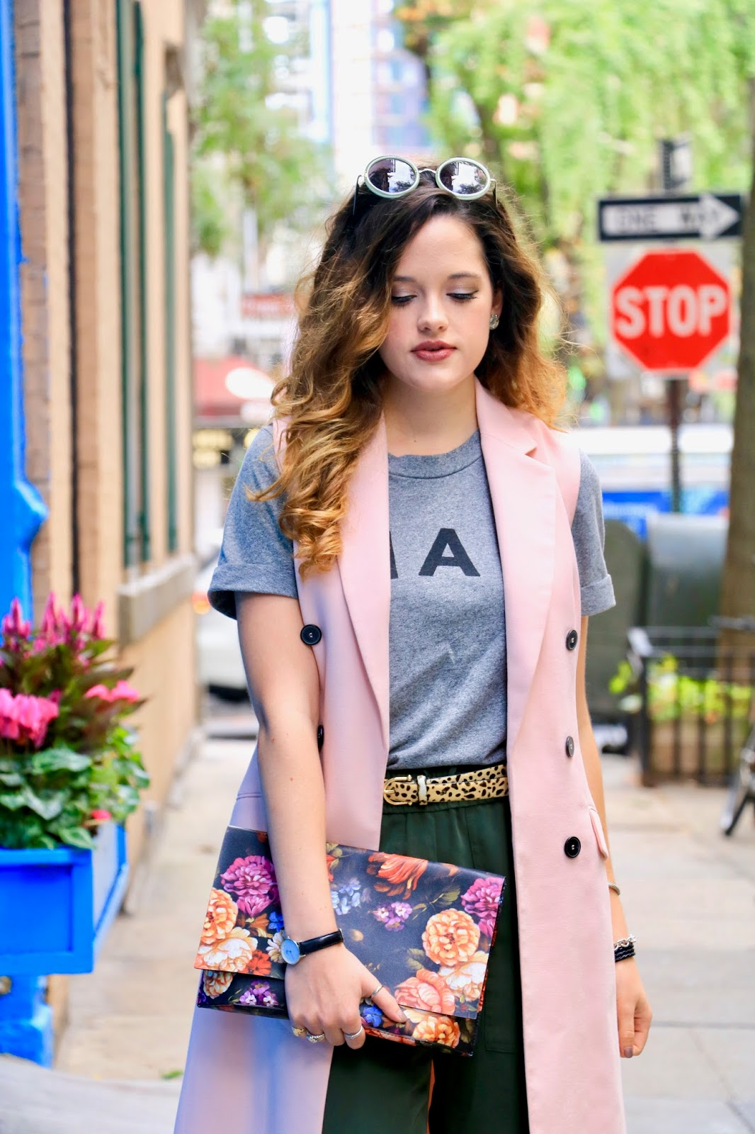 Nyc fashion blogger Kathleen Harper of Kat's Fashion Fix outfit