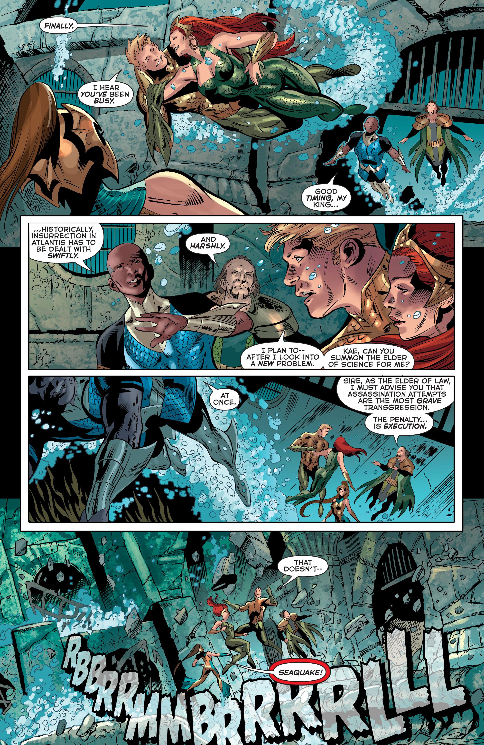 Read online Aquaman (2011) comic -  Issue #33 - 6