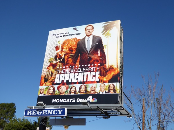 New Celebrity Apprentice billboard