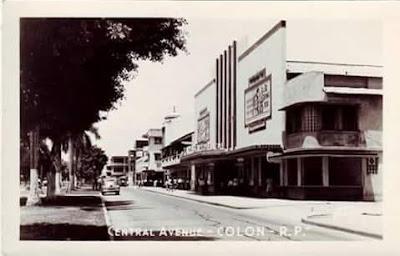 De la época de esplendor de los Cinematógrafos en la ciudad de Colón. 🎥