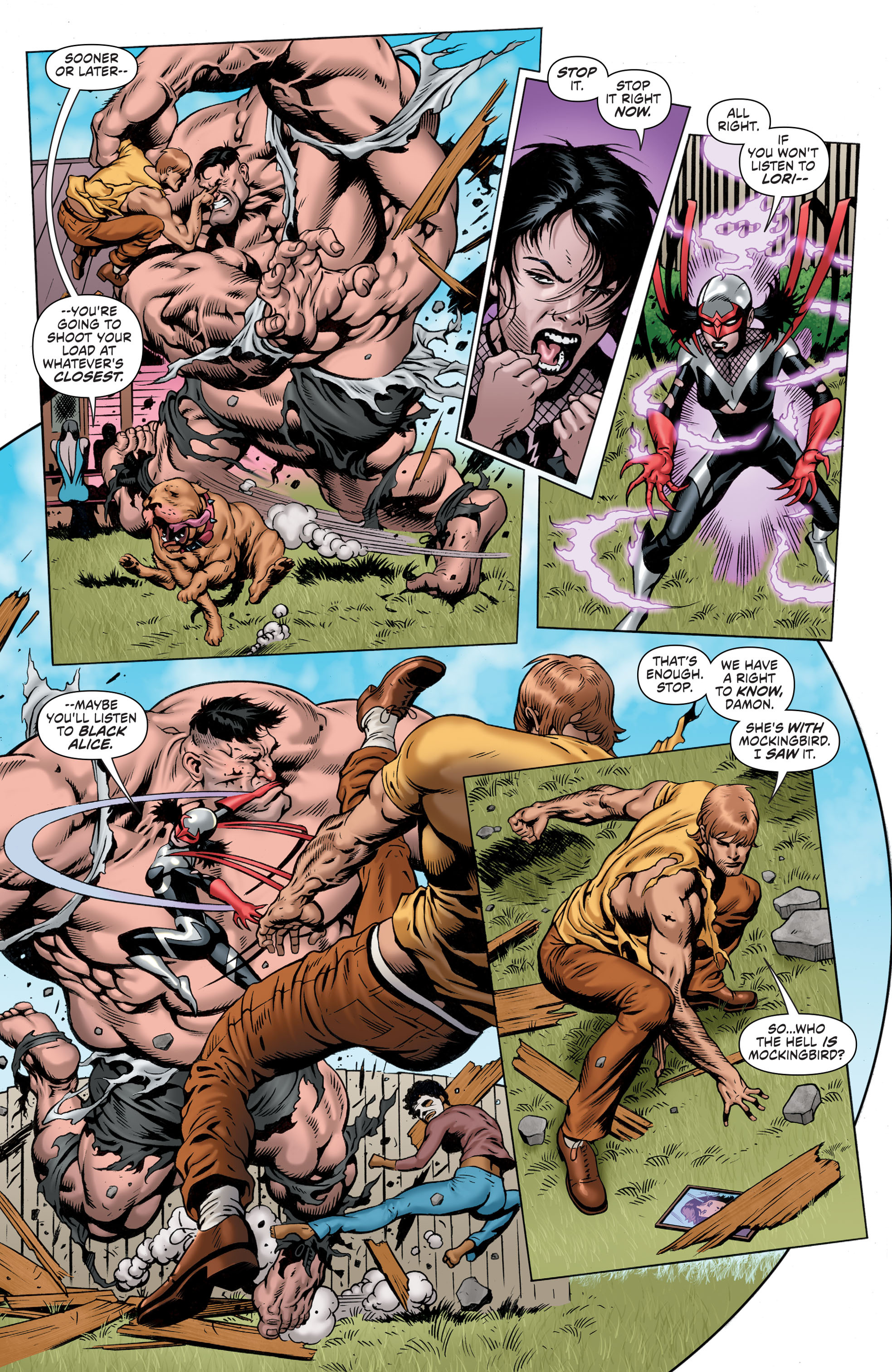 Read online Secret Six (2015) comic -  Issue #5 - 12