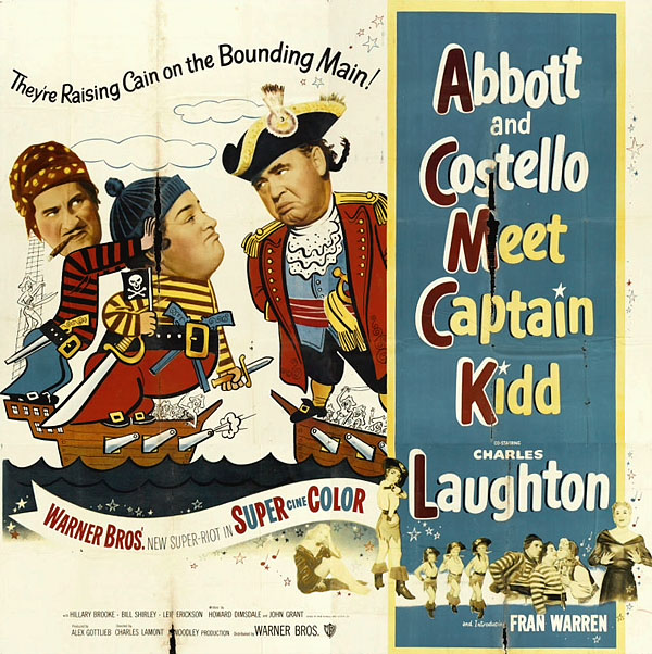Abbott and Costello Meet Captain Kidd movieloversreviews.filminspector.com film poster