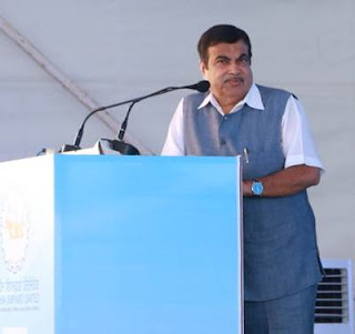 Spotlight : Nitin Gadkari Laid Foundation Stone Of The International Ship Repair Facility