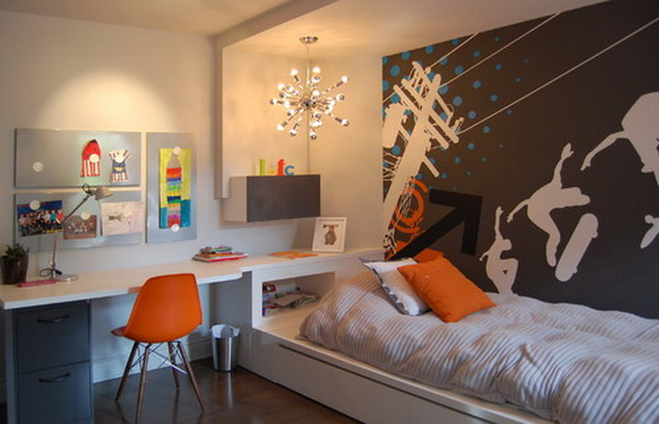 Dormitorios para jovenes varones for Decoraciones para cuartos de hombres