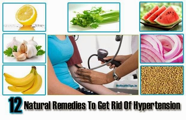Top 12 Natural Remedies To Get Rid Of Hypertension