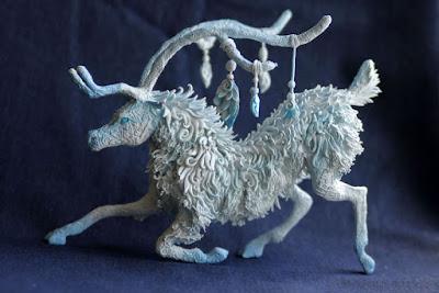 Obra de arte con arcilla polimerica