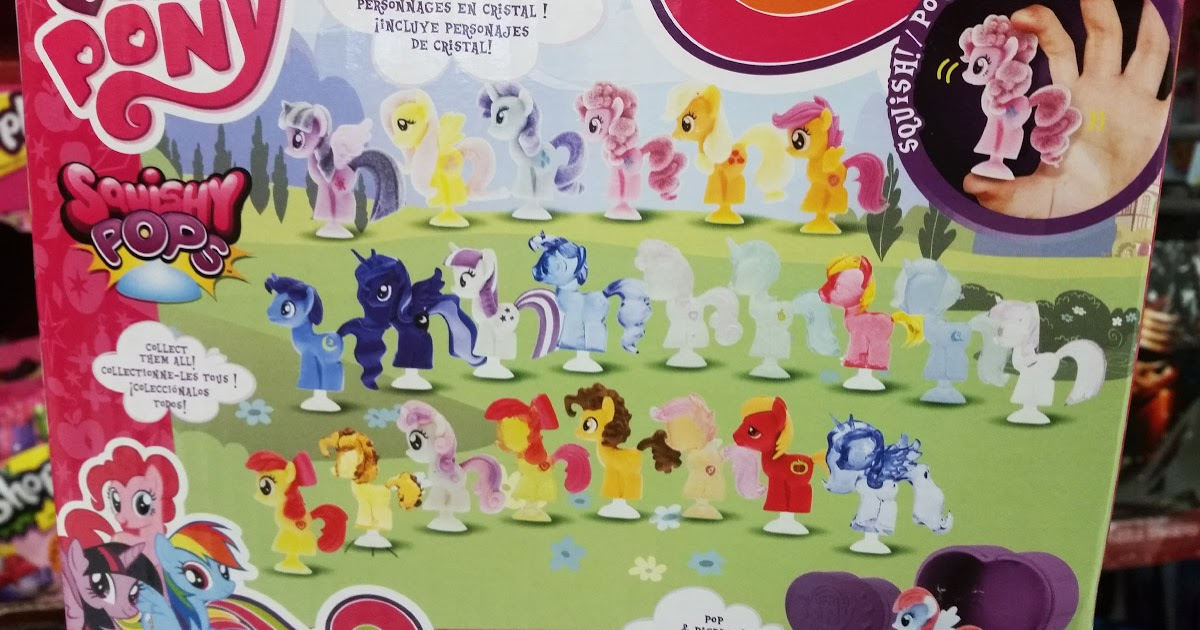 Squish Delish Series 4 : Squish Pops Series 4 & Fash ems Series 6 Released MLP Merch