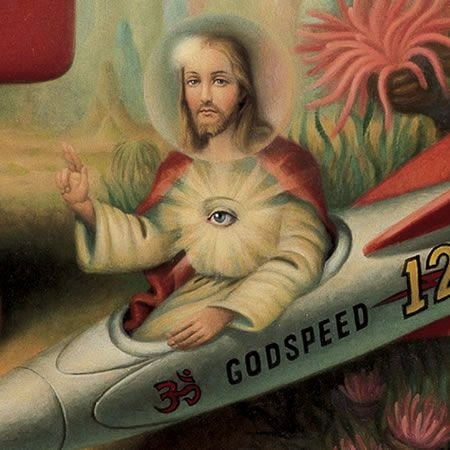 Funny Weird Jesus Collection - Godspeed picture