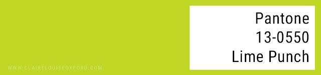 Colori Pantone 2018 Primavera - PANTONE 13-0550 Lime Punch