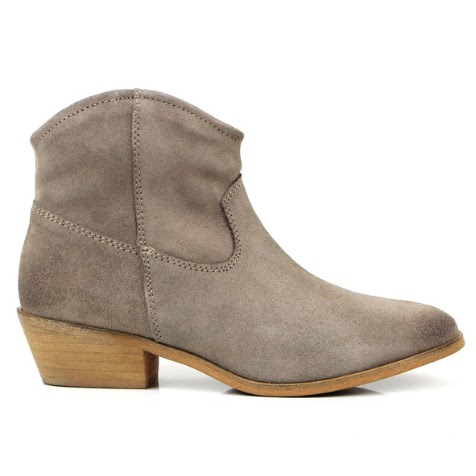 Seven Boot Lane Bali Grey Suede Boots