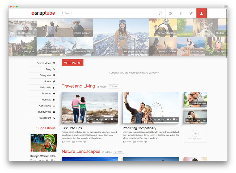 Best WordPress Video Themes For Self-hosted and Embedded Videos 2016-2017