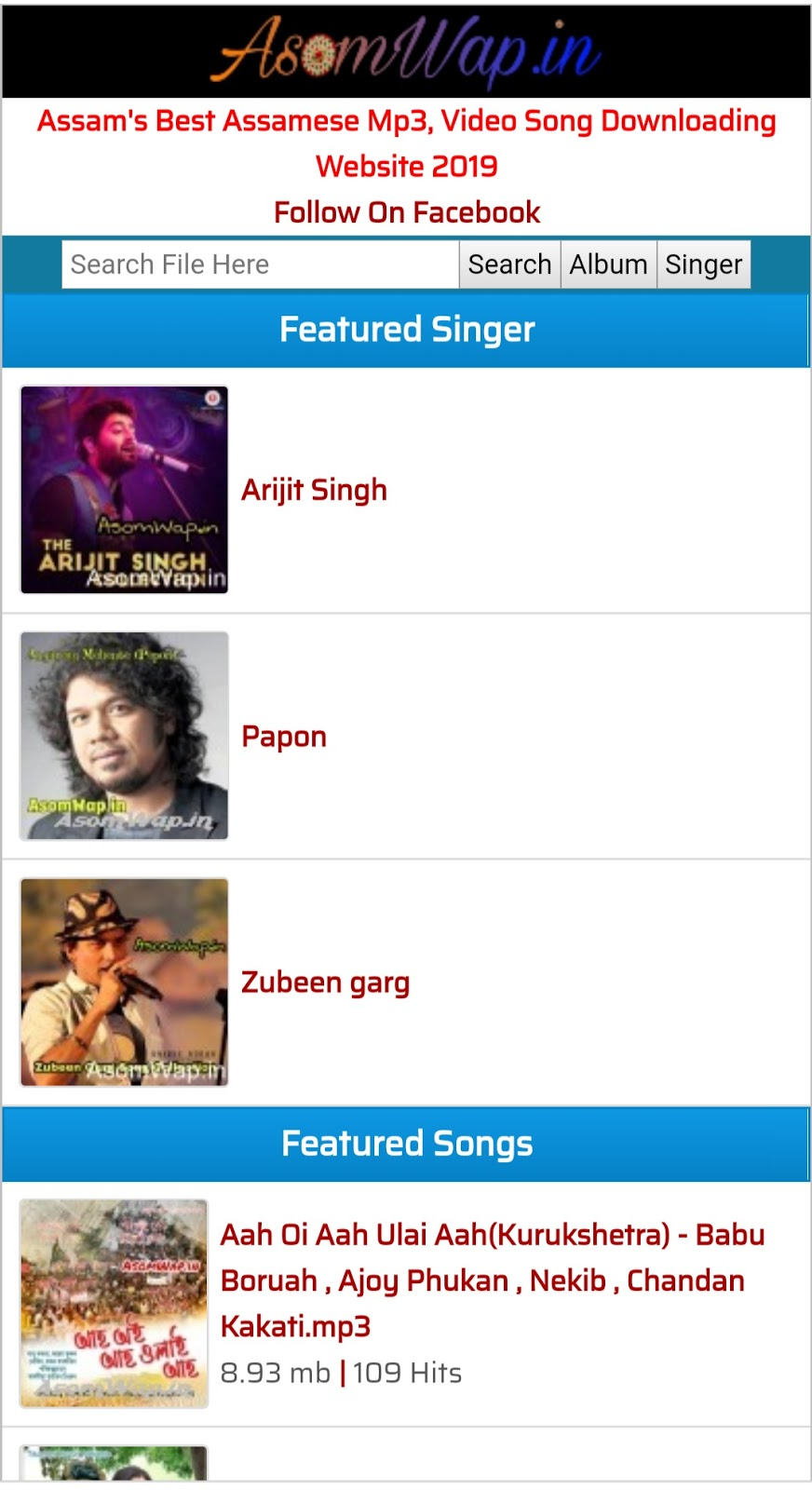Assamese film rowd mp3 songs free download.