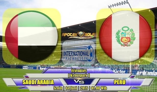Prediksi Arab Saudi vs Peru 04 Juli 2018
