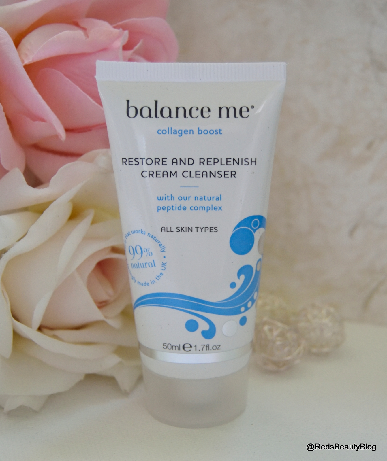 a picture of Balance Me Restore and Replenish Cream Cleanser