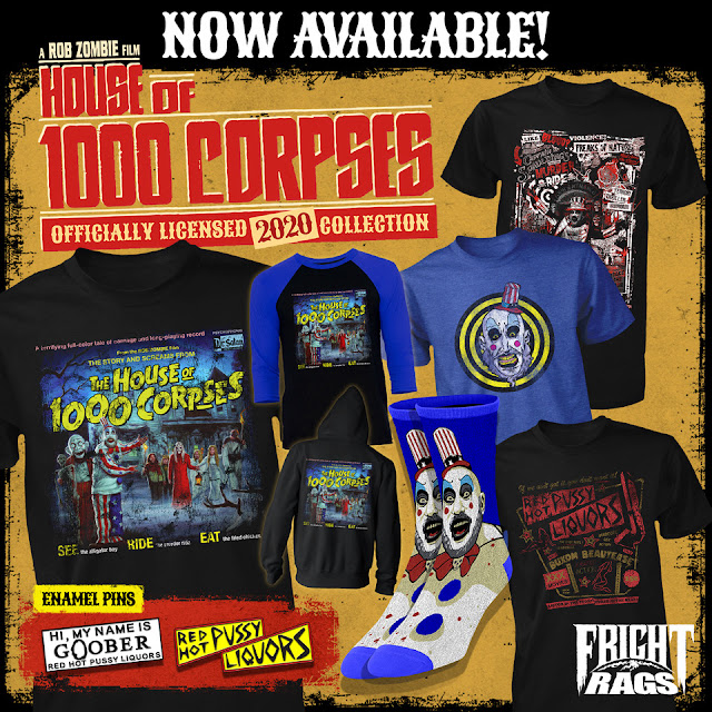 house of 1000 corpses merchandise image
