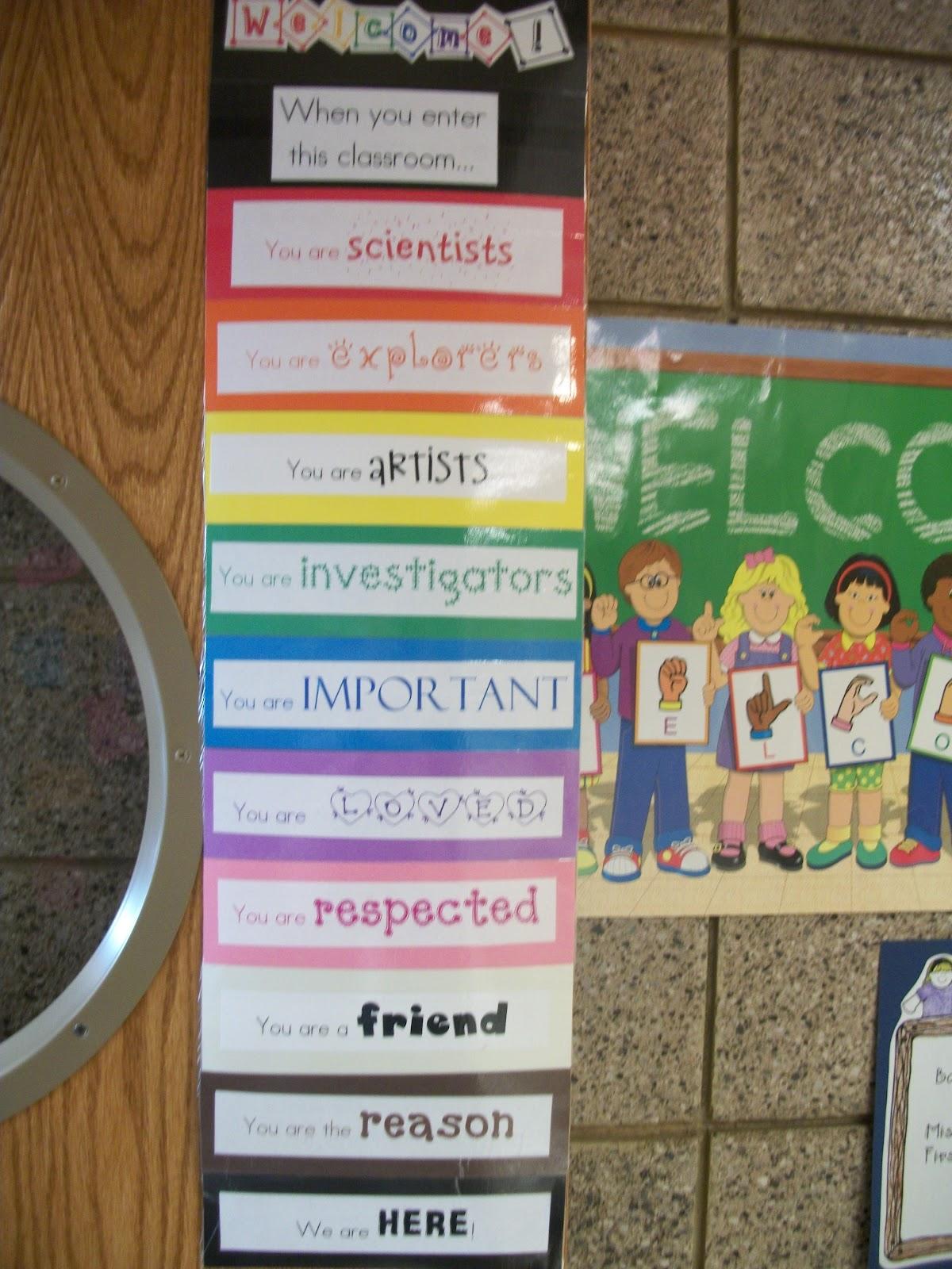 Miss Van Maren S Fantastic First Grade Back To School