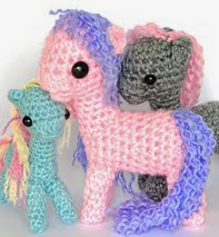 http://www.ravelry.com/patterns/library/little-baby-pony---amigurumi-crochet-pattern