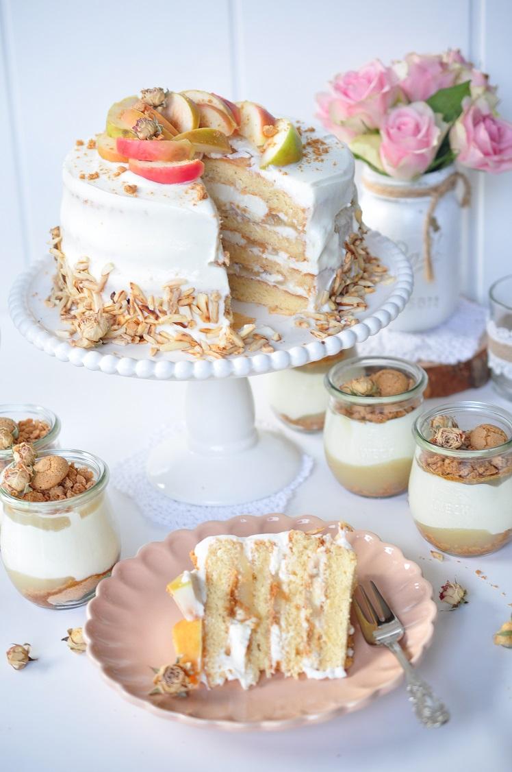 Caketime By Tamaris Amarettini Apfelmus Torte Und Dessert