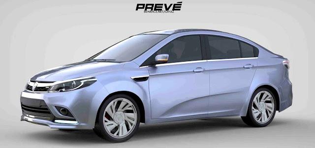 Proton Preve Facelift 2017