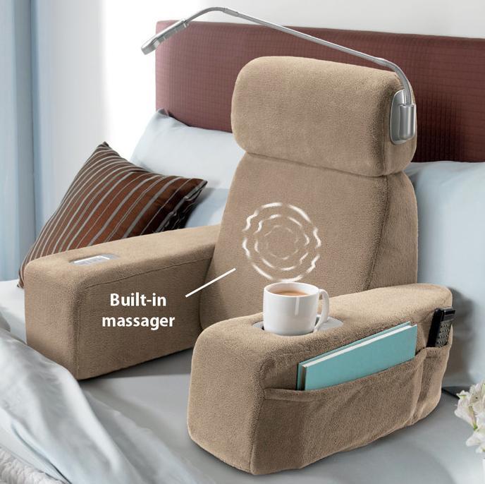 bedroom gadgets. Massaging Bed Rest 15 Must Have Bedroom Gadgets