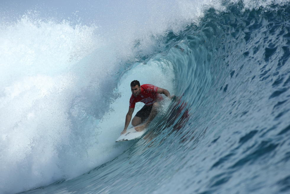 28 Joel Parkinson Billabong Pro Tahiti 2016 foto wsl Poullenot Aquashot